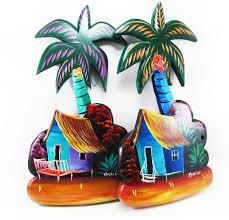 key holder palm tree