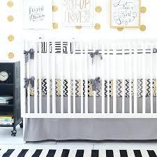 modern ideas of chevron baby bedding gray nursery and white yellow and grey chevron baby bedding
