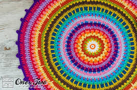 Free Crochet Rug Patterns Impressive Crochet Rug Patterns For A Handmade Home
