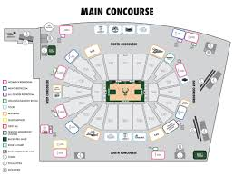 Seating Chart Fiserv Forum Concessions Fiserv Forum