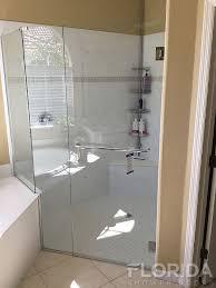 3 8 frameless glass to wall