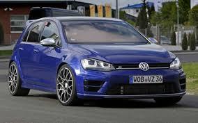 2018 volkswagen models. delighful models 2018 vw golf r front angle for volkswagen models