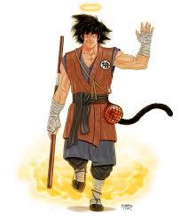 Goku Design Artstation Son Goku Bear Hart