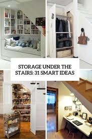 Pantry Under Stairs Storage Under The Stairs 31 Smart Ideas Digsdigs