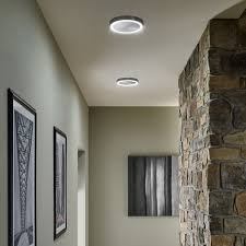 new modern lighting. With A Single Ring Of Light, The Crest Flush Mount Ceiling Light Gives Mounted Whole New Look. Modern Lighting