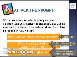 6th Grade Essay Prompts Attack The Prompt Fsa Writing Youtube