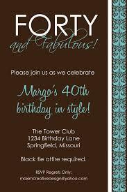 40th Birthday Invitations Free Templates 25 Free 40th Birthday Invitations Template Paulclymer Template