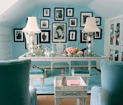 elegant home office. Blues And Elegant Home Office T