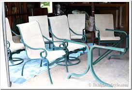 painting patio furnitureHow To Paint Aluminum Patio Furniture  Home Design Ideas and Pictures