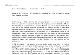 development theories essays child development theories essays
