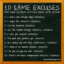 Excuses Quotes Magnificent Quotes About No More Excuses 48 Quotes