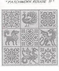 Cross Stitch Free Chart クロスステッチフリーチャート Peacock
