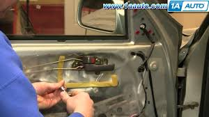 how to install replace front inside door handle toyota camry 92 96 1aauto you