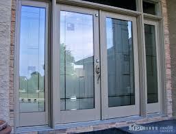 Modern Glass Exterior Doors Contemporary Glass Door Contemporary