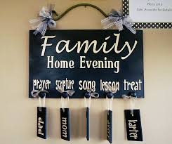 Family Home Evening Chart Ideas Simple Family Home Evening Chart Family Home Evening Home