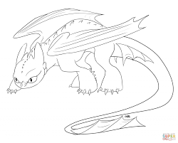 Toothless Coloring Pages 5581