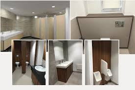 office washroom design. bespoke or off-the-peg office toilet cubicle systems from rdm washroom design