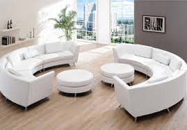 Small Picture circular leather sofa white S3NET Sectional sofas sale S3NET