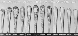 Silver Plate Pattern Chart