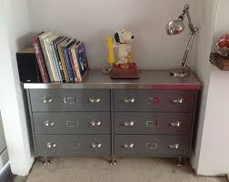 ikea retro furniture. 30s Industrial Office Style Vintage Sideboard From Ikea Rast Retro Furniture F