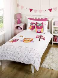 Owl Bedroom Children S Kids 100 Cotton Luxury Themed Bedding Duvet Cover Owl