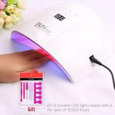 china intelligent 48w sunpro led uv nail l light gel polish cure nail dryer new