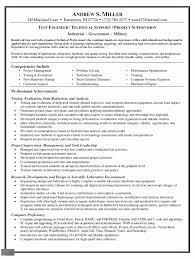 Resume Engineer Resume Example
