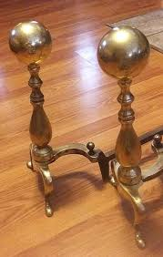 fire dogs for fireplace fireplace andirons and screens awesome antique brass cannonball finial andirons fire dogs