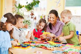 Nursery Teacher Nursery Teacher Playing With The Kids Brookridge Day School