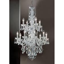 monticello 12 light chandelier crystal trim swarovski spectra finish gold plated