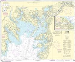 Cape Cod Chart Noaa Nautical Chart 13236 Cape Cod Canal And Approaches