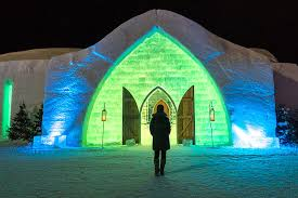 Image result for images hotel de glace quebec