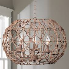 Rope Frame Chandelier Shades Of Light