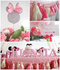 innovative decoration minnie mouse decorations for baby shower inspiring ideas kara s party