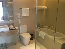 acacia hotel manila a bathtub and rain shower