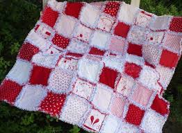 The 25+ best Christmas rag quilts ideas on Pinterest | Rag quilt ... & SALE REDUCED 20% Cozy Christmas Rag Quilt-Winter Wonderland Redwork Country  Prim Snowmen Stars Adamdwight.com