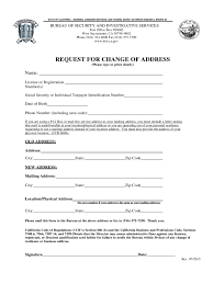Social Security Change Of Address Form Form Social Security Change Of Address Form 11