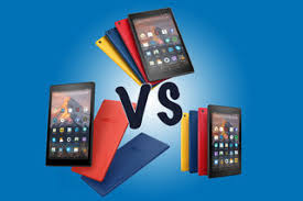 Tablet Screen Size Comparison Chart Best Amazon Fire Tablets Fire 7 Vs Fire Hd 8 Vs Fire Hd 10