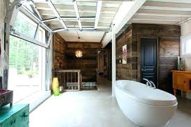 indoor garage door indoor garage door insulated glass doors industrial bathroom also chic containers deck mount