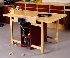 mobile workbench plans. 31-md-00057 - drop leaf mobile workbench woodworking plan plans p