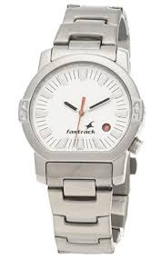fastrack 1161sm03 men s watch buy fastrack 1161sm03 men s watch designed silver and steel fastrack 1161sm03 watch is crafted to make the wearer feel confident the round shaped white colored dial makes a statement