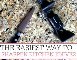 How To Sharpen Kitchen Knives Quick Tips For YouSharpen Kitchen Knives