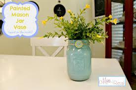 Painted Mason Jars Painted Mason Jar Vase Paint On The Inside Mom 4 Real