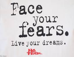 Facing Fear Quotes Classy Face Your Fears Quotes Our Top 48 Wild Child Sports
