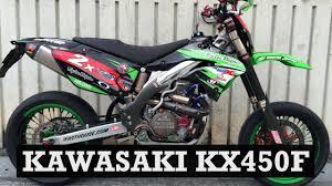 supermoto build kawasaki kx450f by hong kam supermoto central
