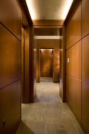 cove lighting design. Hallway With Cove Light And LED Steplights Contemporary-hall Lighting Design P