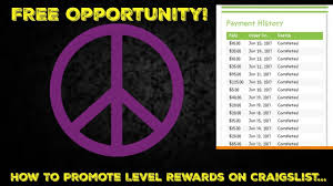 training rewards level rewards training how to promote level rewards on craigslist