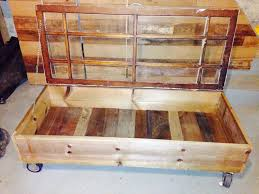 vintage style coffee table storage