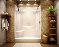 tile shower stalls. Prefab Tile Shower One Piece Acrylic Stall Home And Throughout Decorations . Prefabricated Stalls