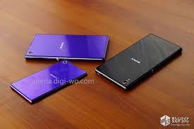 sony xperia z1 purple. sony honami mini xperia z1 purple r